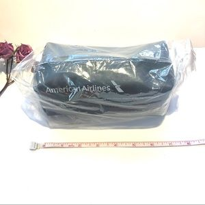 NWT Come Haan Blue cosmetics zip pouch from AA